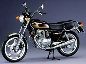 CB400TホークⅡ(バブ)