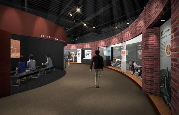 ヤマハの企業ミュージアム2F「歴史展示エリア」を12年ぶりにリニューアル
